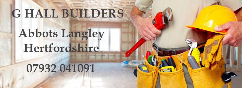 G Hall Builders, 2 The Garth, Abbots Langley, Hertfordshire WD5 0JJ
